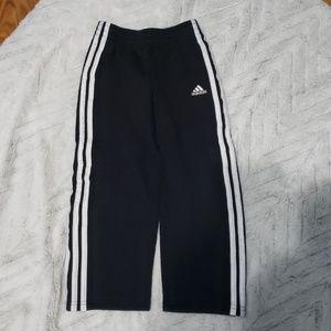Boys Adidas black jogging pants size 6
